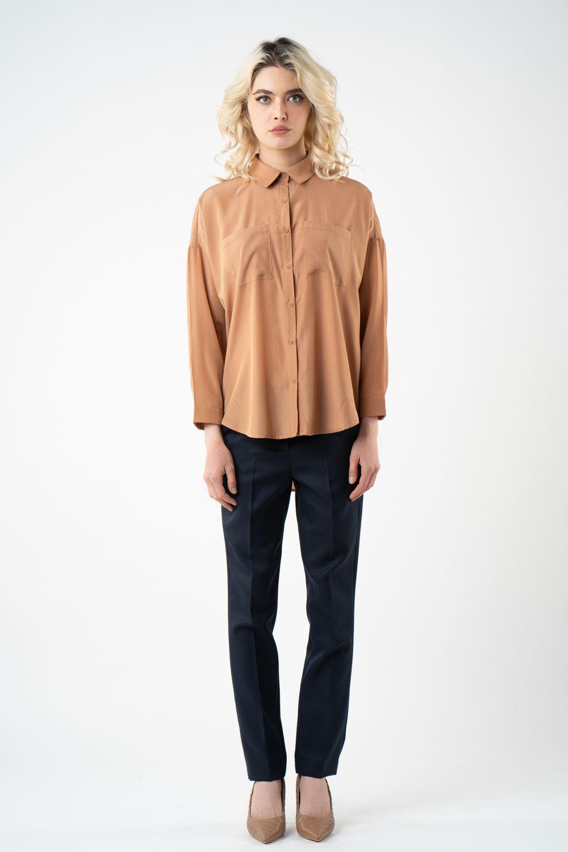 1 pantalon bleumarin cu dunga v21 Brenda