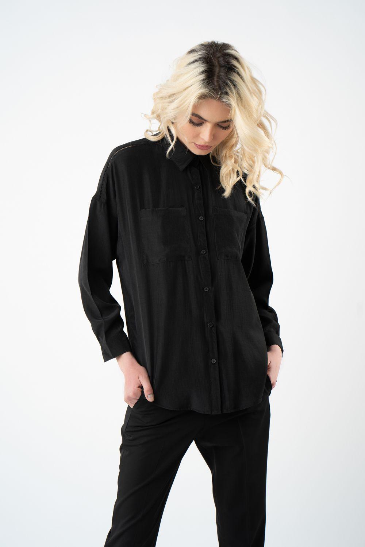 1 camasa neagra cu buzunare v21 Alina