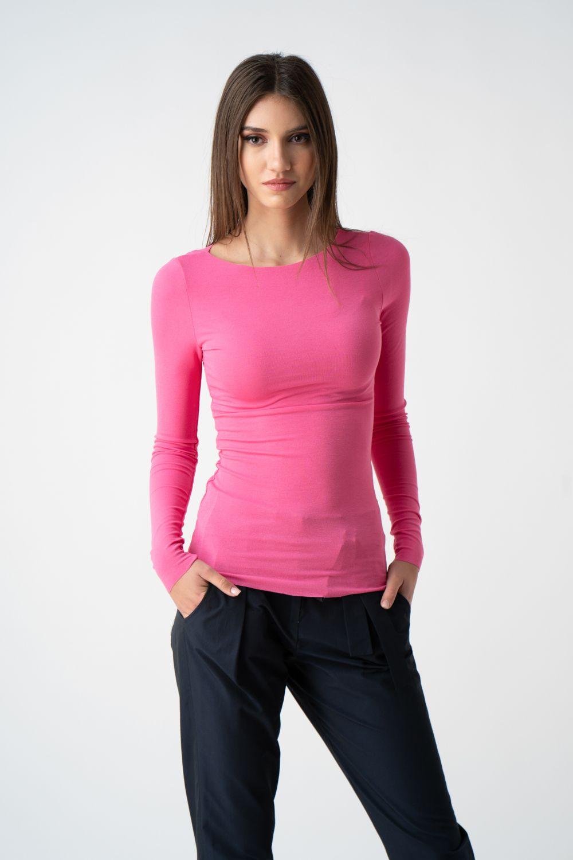 bluza pink mulata pe langa gat v21 Liana ETIC