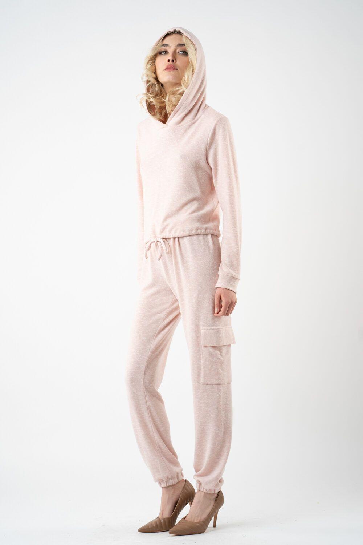 pantalon roz poudre i21 Alina ETIC 1