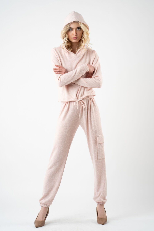 pantalon roz poudre i21 Alina ETIC 3