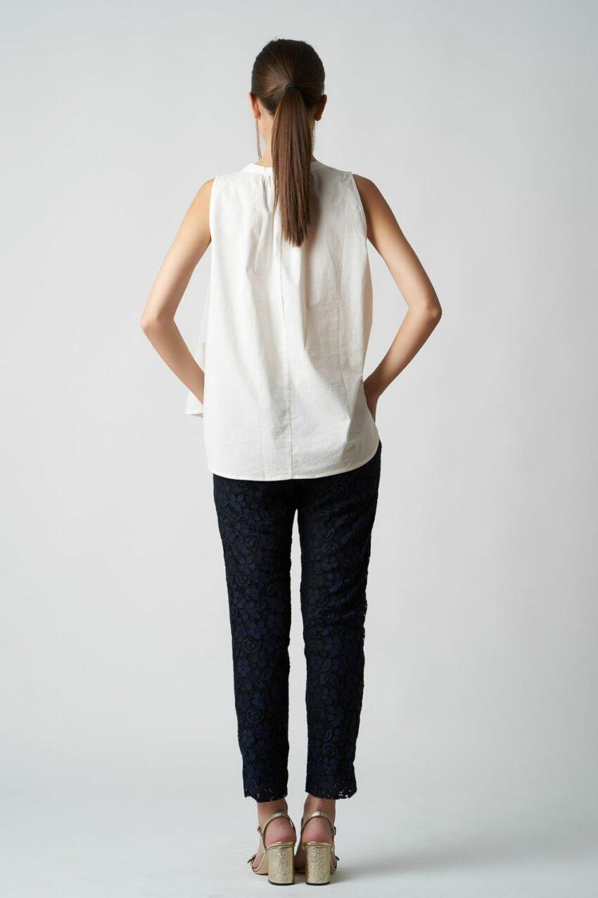 pantalon bleumarin din dantela v20 Fancy ETIC 1