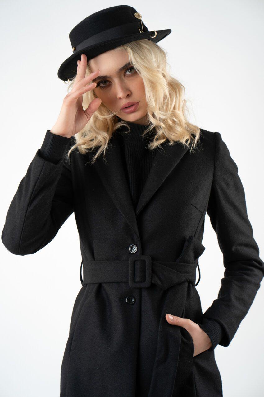 1 palton scurt cu cordon i21 Ivona
